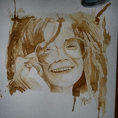 My Janis Joplin  Caffè su carta 2015  MELA - Carmela Garro