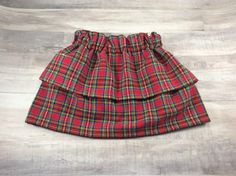 Two Tier Skirt- Baby Skirt- Toddler Skirt- Children Skirt- Holiday Skirt- Christmas Skirt- Gift by OllyandOlive on Etsy https://www.etsy.com/listing/494915917/two-tier-skirt-baby-skirt-toddler-skirt