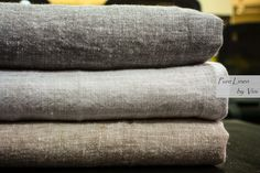 Yarn Dyed Linen Chambrays | Pure Linen by Vini