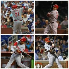 The reds hit four homeruns last night against the Cubs. Which one was your favorite? (6/11/13)