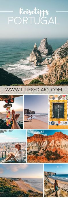 14 days Portugal road trip - from north to south. Porto, Lisbon, beautiful beaches and lots of nature. A round trip through Portugal is wonderful! Don't miss Aljezur, the Algarve and the many beautiful surf spots. All information on lilies-diar Algarve, Road Trip Van, Road Trip Packing, Porto Portugal, Visit Portugal, Hotels Portugal, Beautiful Hotels, Beautiful Beaches, Travel Tips
