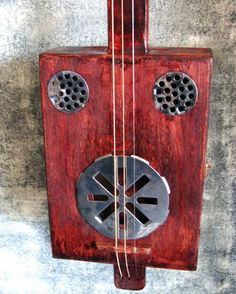 Cigar Box Resonator Guitar build