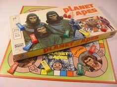 Planet Of The Apes Boardgame - this caused me to cave and see the movie this year with my Husband.  Had totally forgot I used to have the board game!!