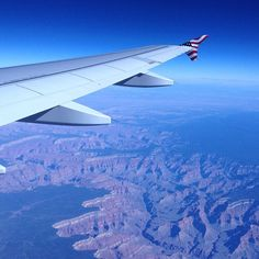 From @votedmostsal: Grand Canyon from an airplane. @virginamerica #airplane #grand #canyon #view