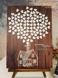 Up House Disney Theme Wedding Guest Book Alternative Guestbook Wedding Bridal Shower Fairy tale Wedding Sign in hearts Up Movie Wedding Themes, Wedding Signs, Wedding Venues, Wedding Ideas, Wedding Reception, Budget Wedding, Wedding Decor, Wedding Rustic, Wedding Programs