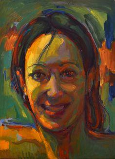 Natalia, óleo-tabla, 35x25'5 cm.