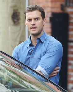 Jamie Dornan as Christian Grey Fifty Shades Freed 6/20/2015 http://everythingjamiedornan.com/gallery/thumbnails.php?album=285