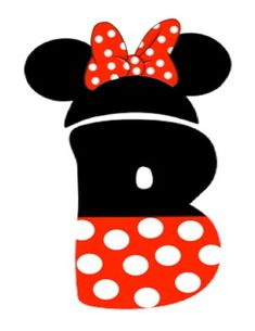 Mickey and Minnie Mouse Letters by The Happiest Place to Learn Mickey Mouse Crafts, Mickey Mouse Bday, Mickey Birthday, Mickey Minnie Mouse, Mickey Ears, Disney Crafts, Scrapbook Letters, Disney Scrapbook, Scrapbooking