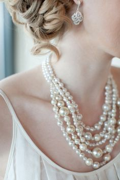 The Most Glamorous Bride I've Ever Seen--Guess Where She Got Her Bridal Accessories