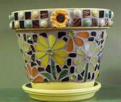 1000+ images about Mosaics on Pinterest | Mosaic Pots, Mosaic Art and Mosaic Vase