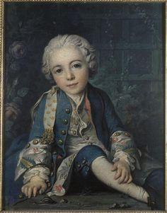 Louis-Gabriel Bourdon (1741-1795), 1745 by Louis Tocqué (1696-1772), (Musée de…