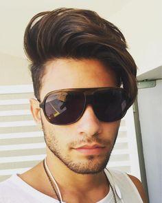 andre_fonseca123_and long hair top long fringe short sides haircut
