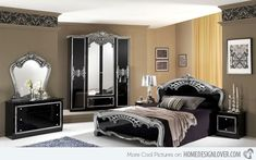 Modern Bedrooms: Embracing Antiquity of the Past and Elegance of the Last