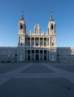 Almudena Cathedral - Almudena Cathedral in Madrid.