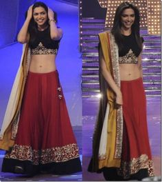 @ $136 Deepika Lehenga Choli with FREE shipping offer.