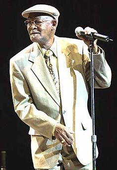 Cuban music legend: Ibrahim Ferrer with the Buena Vista Social Club... get the cd and the dvd... unbelievable from Ry Cooder productions