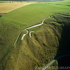 "Chalk horse, Uffington, England, 3000+ years old.       ""Before the gods that made the gods  Had seen their sunrise pass,  The White Horse of the White Horse Vale  Was cut out of the grass.""   ~ CK Chesterton"
