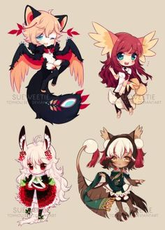 YCH Batch Ahhh i finally made it yey ; 7 ; The very cuteh vampire belongs to Liliorl And the beatiful blue haired Katana belongs to Zereshi Im really thankfull that both are so patient with me Than...