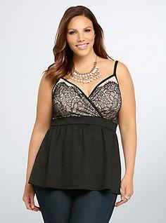 28a94ba2b18bda 18 best Women s Fashion - Plus Size Tops images on Pinterest