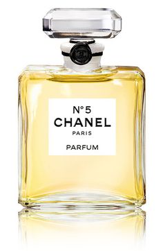 Chanel No. 5.    Adlehyde (synthetic floral), ylang ylang, neroli;   may rose and jasmine;   sandalwood and Bourbon vanilla