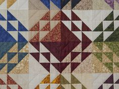 Corn and Beans Quilt -- magnificent cleverly made Amish Quilts ...