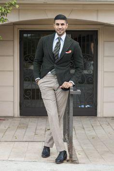 Herringbone Tweed Blazer 0022
