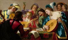 The Concert, by Gerard van Honthorst, 1623.