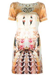 Mary Katrantzou Vestido Estampado Modelo 'Cake A Flake'. - Bernard - farfetch.com.br