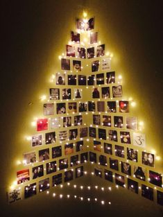 15 unique Christmas tree decorations that are simply fascinating - home . , 15 unique Christmas tree decorations that are simply fascinating - HomelySmart - HomelySmart Wall Christmas Tree, Creative Christmas Trees, Easy Christmas Decorations, Simple Christmas, Christmas Crafts, Christmas Ornaments, Chrismas Tree Diy, Modern Christmas Trees, Christmas Tree Made Of Lights