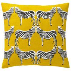 DwellStudio Home Zebra Citrine Pillow