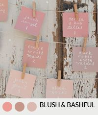 15 Gorgeous Pink Colour Schemes for your Wedding | SouthBound Bride