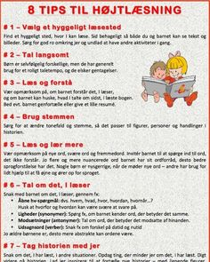Dialogisk læsning - viden og gode råd Classroom Daily Schedule, Danish Language, Teaching Schools, Cooperative Learning, Tot School, Teaching Materials, Learn To Read, Classroom Management, Kids And Parenting