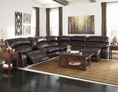 Damacio-Brown Reclining Sofa Collection