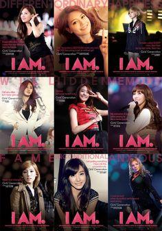 少女時代9人の個性が凝縮、映画『I AM』の個別ティーザーポスター公開!