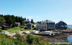 Bailey Island Maine Hotel-The Driftwood Inn Maine Hotel, Hotel on the water near Brunswick, Maine