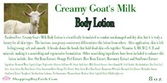 Creamy Goat's Milk Body Lotion 8 oz Hypo-Allergenic, Paraben Free Alcohol Free, Mineral Oil, Free Cruelty Free, Unscented or Essential Oils by ShoppingBuyFaith on Etsy Pure Cosmetics, Hydrating Lip Balm, Fiber Lash Mascara, Paraben Free, Mineral Oil, Alcohol Free, Goat Milk, Body Lotion, Dry Skin