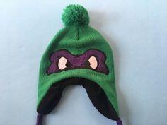 d9361ab49f6e7 Teenage Mutant Ninja Turtles Beanie Hat Donatello Tassels Pom Men Women TMNT   fashion  clothing