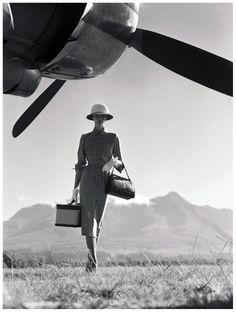 Wenda Parkinson (née Rogerson), – Photo Norman Parkinson – 1949