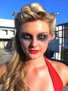 Halloween makeup for a realistic interpretation of a mermaid