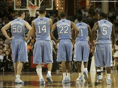 unc 2009 basketball team photo - Google Search