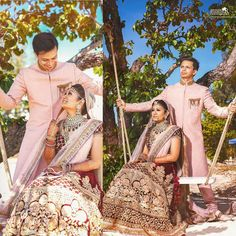 Swinging back & forth in love❤️ Samveg+Tanvi (destination Wedding ) #savethedate #destinationwedding  #colors #wedding #weddingsutra #weddingdiaries #love #loveintheair #emotions #fairytale #romance #royal#loveforlife #instadaily #instagramers #bride#bridaldress  #beachwedding ##weddingfun#drama#night #weddingphotography #weddingdiaries #sea #rocks#sabyasachibride #bride #designer #bigfatwedding #groom http://gelinshop.com/ipost/1518811190146216327/?code=BUT5rr9jbGH