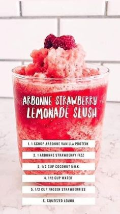 Arbonne Shake Recipes, Arbonne Protein Shakes, Protein Shake Recipes, Smoothie Recipes, Smoothies, Drink Recipes, Clean Eating Dinner, Clean Eating Recipes, Yummy Drinks
