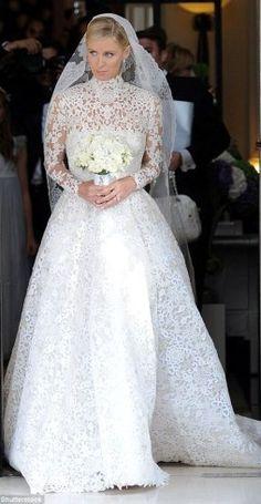 nicky hilton wedding dress - Pesquisa Google