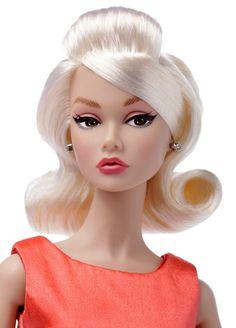 "Poppy Parker Dolls: ""Baby, It's You"" Poppy Parker / Chip Farnsworth gift set Barbie Hair, Doll Hair, Barbie And Ken, Pretty Dolls, Beautiful Dolls, Fashion Royalty Dolls, Fashion Dolls, Doll Eye Makeup, Poppy Doll"