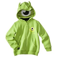 I want this to come in big people sizes. Monsters, Inc. Infant Toddler Boys Hoodie
