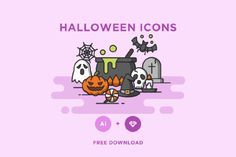 Free Halloween Vector Icons