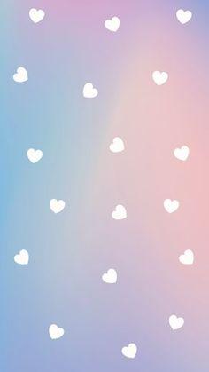 Wallpaper Degradê White Hearts by Lockscreen Wallpaper Papel de parede Plano de fundo Celular Gradient Hearts Aesthetic Cute Wallpaper Degradê White Hearts Phone Wallpaper Pastel, Rainbow Wallpaper, Emoji Wallpaper, Heart Wallpaper, Iphone Background Wallpaper, Purple Wallpaper, Kawaii Wallpaper, Tumblr Wallpaper, Galaxy Wallpaper