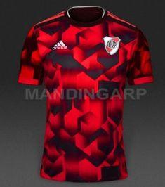 VOTÁ: ¿Te gusta la nueva camiseta de River? Dejá tu opinión sobre la nueva Soccer Memes, Soccer Kits, Football Kits, Volleyball Memes, Sport Shirt Design, Sports Jersey Design, Sport T Shirt, Soccer Uniforms, Cycling Jerseys