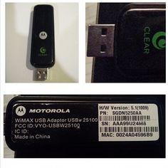 Motorola-Clear-Wimax-USB-Adapter-USBw-25100-HW-Version-51(1009)-WiFi.html  #WIFIStick #Motorola #Wirelessadapter #Betubidauctions #Betteralternative