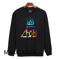 Fall Out Boy logo Sweatshirt Sweater Unisex Adults size S to 2XL
